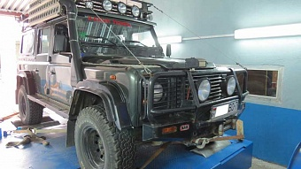 Land Rover Defender 2.5 Td5 122hp